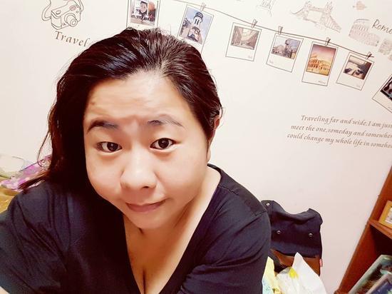 """蔡英文自费聘雇的""""御厨""""许名慧。(图片来源:台湾《联合报》)"""