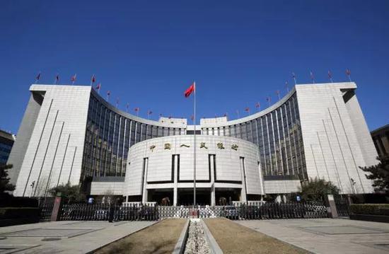 ▲中国人民银行