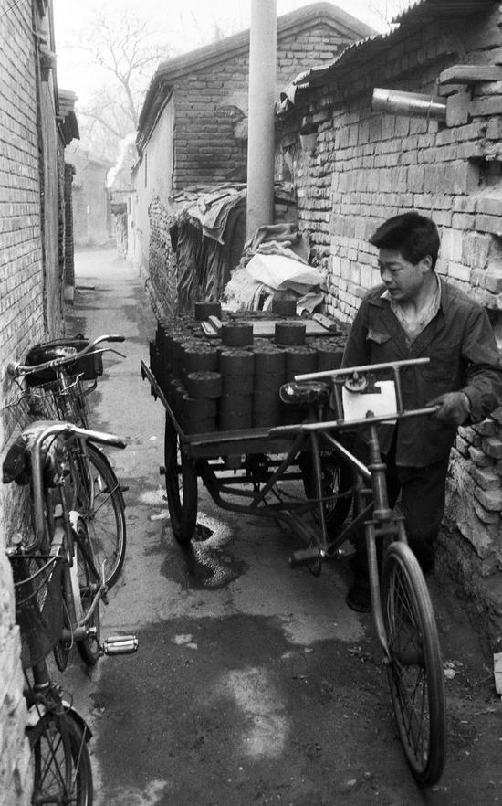 送煤工,1994年。