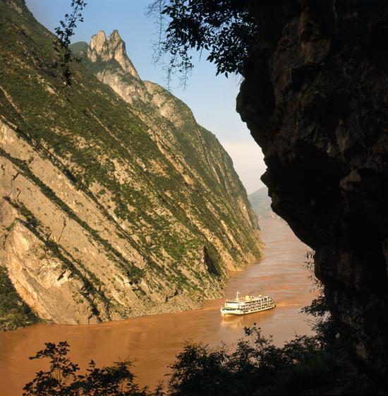 长江三峡,1978年。