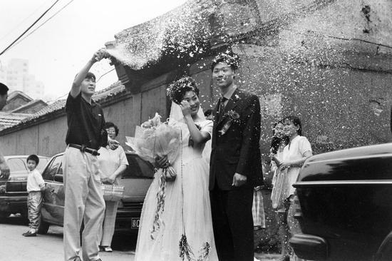小巷婚礼,1993年。