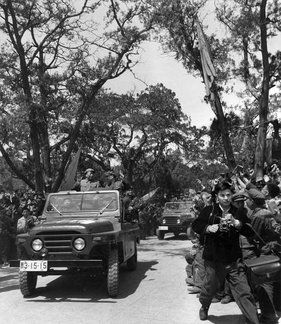 1967年5月1日,沈延太在劳动人民文化宫