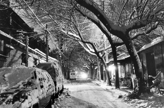 雪夜胡同,1997年。
