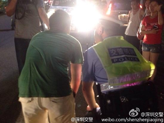 深圳交警回应罚看远光灯:是自愿体验并非强制