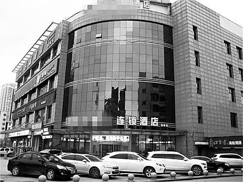 """李建军与任某相约碰头""""知道状况""""的旅店"""