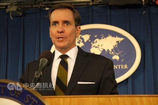 """美发言人:支持台""""有意义地参与""""国际刑警组织 文教"""