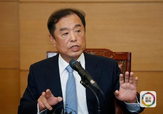 韩总理候选人:亲信门若拖累施政或建议总统退党