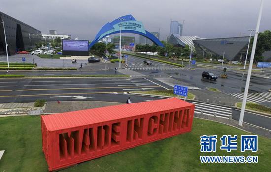 这是建设中的中国(广东)自由贸易试验区深圳前海蛇口片区一角(2016年4月12日摄)。新华社记者 毛思倩 摄