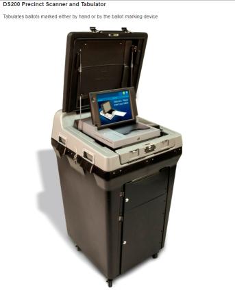 马里兰州选票扫描器