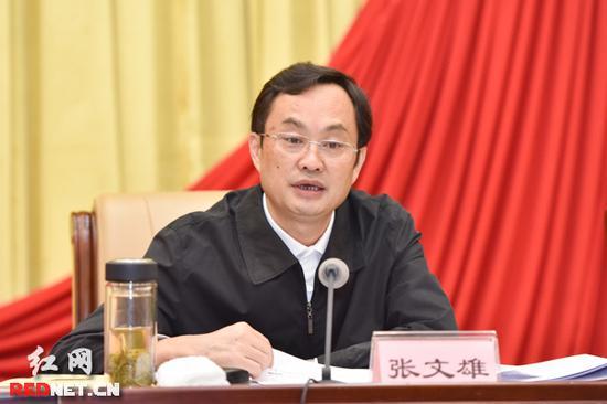 湖南省委宣传部长张文雄涉嫌严重违纪被调查