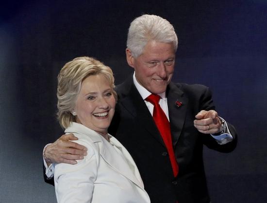 如果希拉里胜选 该咋称呼克林顿?