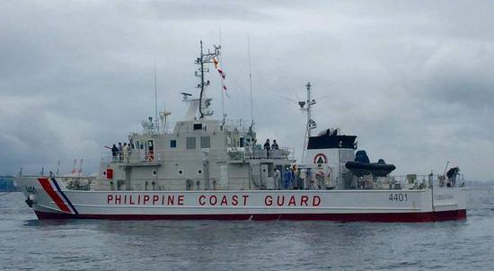 菲律宾时隔四年重返黄岩岛海域巡逻