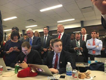 美媒:特朗普击败希拉里赢得美国大选