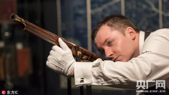 乾隆御制火枪以1670万成交 买家系亚洲收藏家