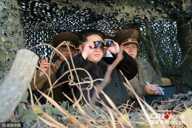 金正恩赴朝鲜西部海域前线视察部队