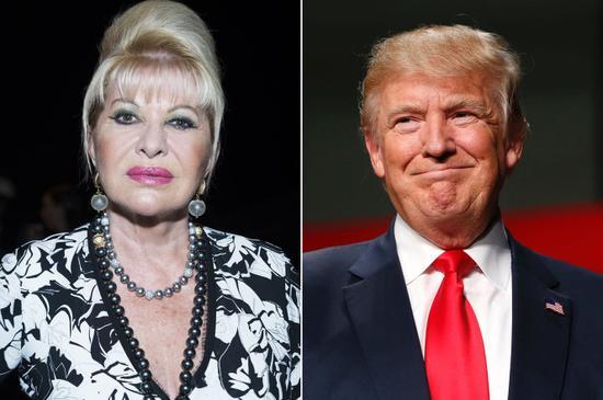 特朗普前妻与第一夫人失之交臂 自荐驻捷克大使