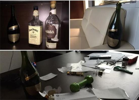 好酒之徒!梁颂恒的房间有逾10个酒瓶