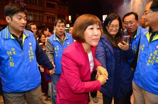 吕玉玲。(图片来源:台湾《联合报》)