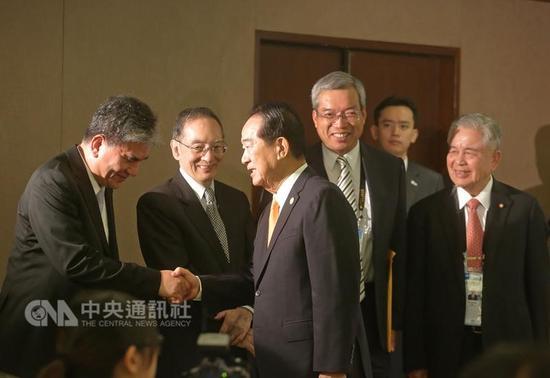 宋楚瑜17日下午参加国际记者会
