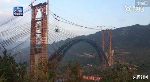 世界首座高铁钢混结合拱桥