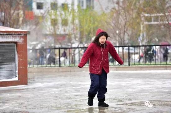 北京今冬初雪