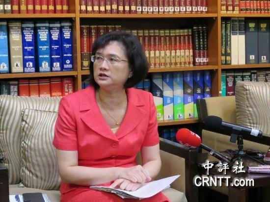 """台湾""""外交部""""发言人王佩玲"""