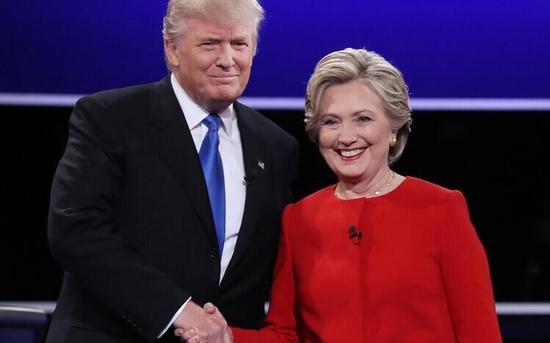 特朗普回应不起诉希拉里:不想伤害她
