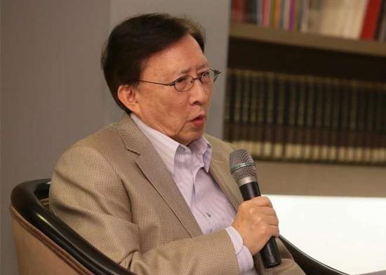 """台湾""""中华文化总会总会长""""刘兆玄宣布离开""""文总""""职务,以后不再过问所有运作与业务。(图片取自台媒)"""