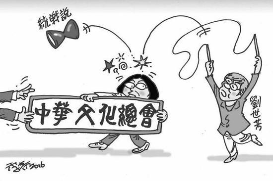 """蔡英文或任中华文化总会会长 业界忧被""""洗绿"""""""
