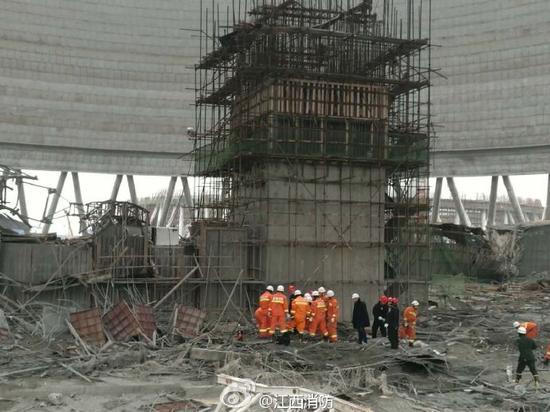 江西倒塌电厂系省内电力重点项目 总投资76.7亿
