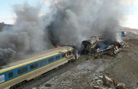 伊朗火车事故已致36死95伤 当局称多数为轻伤