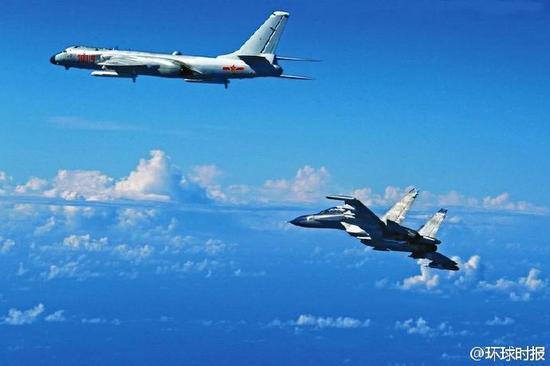 日媒:中国军机飞越宫古海峡 自卫队机紧急升空