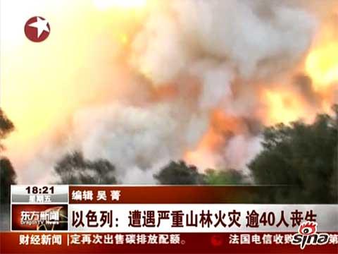以色列海法火灾严重 中国使馆租大巴撤离留学生 文化 第3张