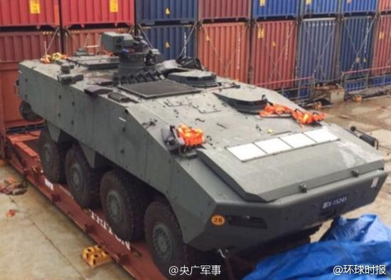 外媒:新加坡急于要回被香港查扣装甲车