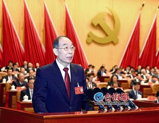 中共福建省委常委班子出炉 尤权当选省委书记