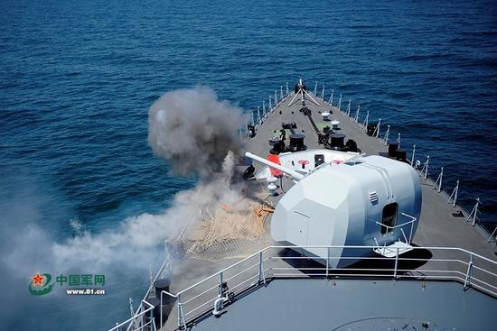 中国海军首次公开北海大军演 专家:针对韩国