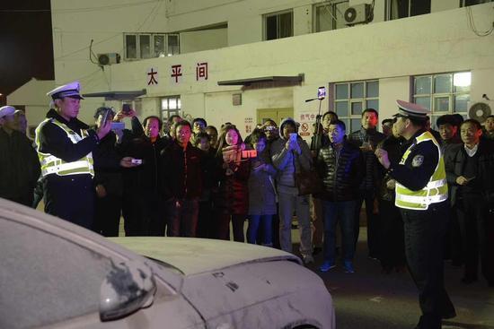 昨晚活动现场 摄影记者 张磊