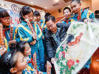北京市民十渡重温老北京故事