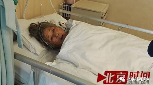 12月6日,车祸幸存者潘玉英从ICU转入通常病房