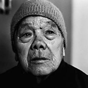 历史的见证者张秀红老人昨天去世,资料图片