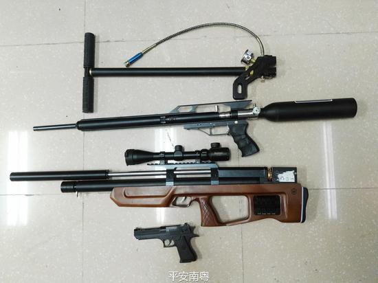 珠海警方缴获枪弹珠海警方缴获枪弹