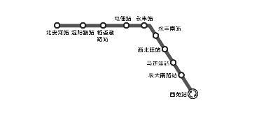 16号线北段示意图
