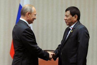 俄海军访问菲律宾:希望中俄菲马能在南海演习_新浪新闻