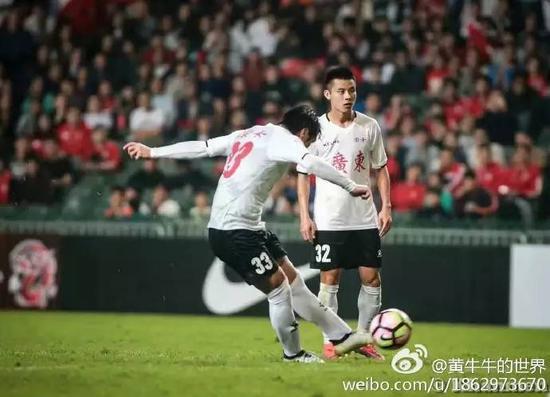 1月4日,第39届省港杯第二回合比赛在香港进行,中国香港队对阵广东队。
