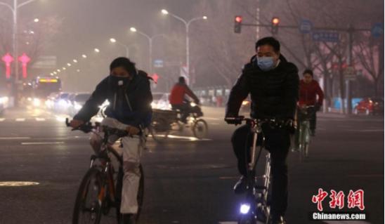 媒体揭北京长时间雾霾成因:区域传输加重污染