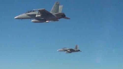 美国国防部网站公布的照片。