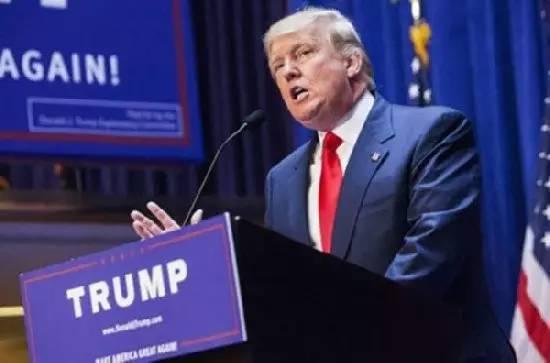 """▲特朗普一再坚持他的""""贸易保护主义""""立场"""