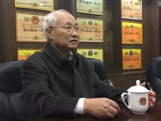 广东省公安厅原副厅长朱明健。张子俊 摄