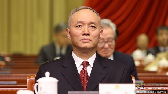 北京代市长蔡奇