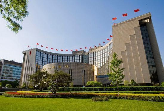 ▲中国人民银行在中国履行货币监管这一功能